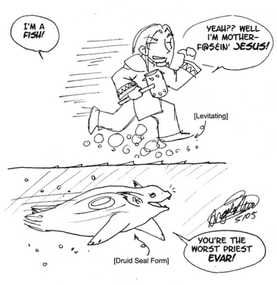[92] - Druids Skinny Dip.